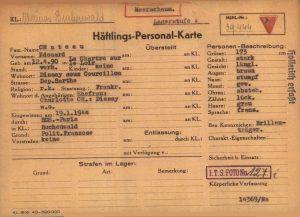 Carte Buchenwald
